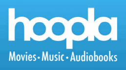 Hoopla movies, music and audiobooks